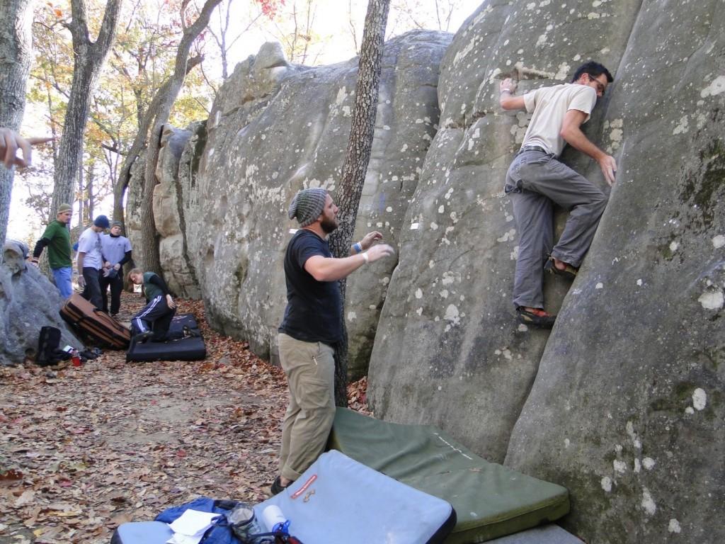 triple crown bouldering series