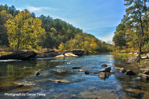 Uncharted Cahaba River Alabama Outdoors