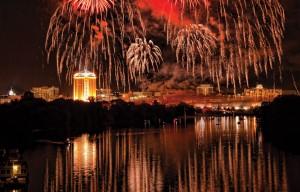 Fireworks overMGM