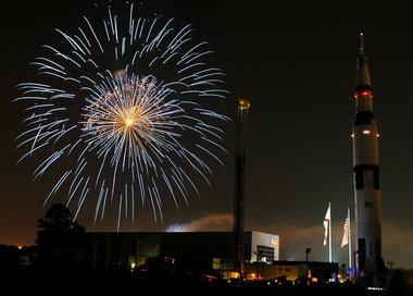 Huntville rocket fireworks